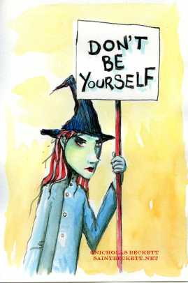 dont be yourself