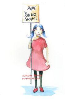 Have you no shame