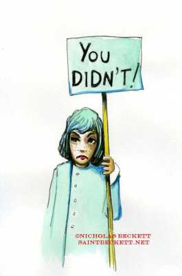 you didn't
